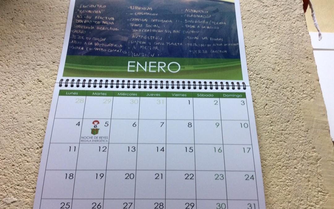 ¡Año nuevo, calendario EnergÉtico nuevo!