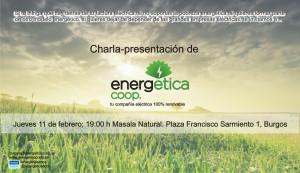 Cartel EnergEtica en BurgosFeb2016