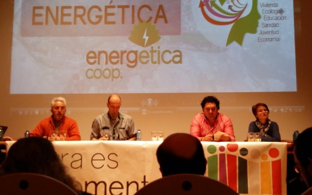 """EnergÉtica en el """"Debate sobre el estado de la ciudad"""", Burgos."""