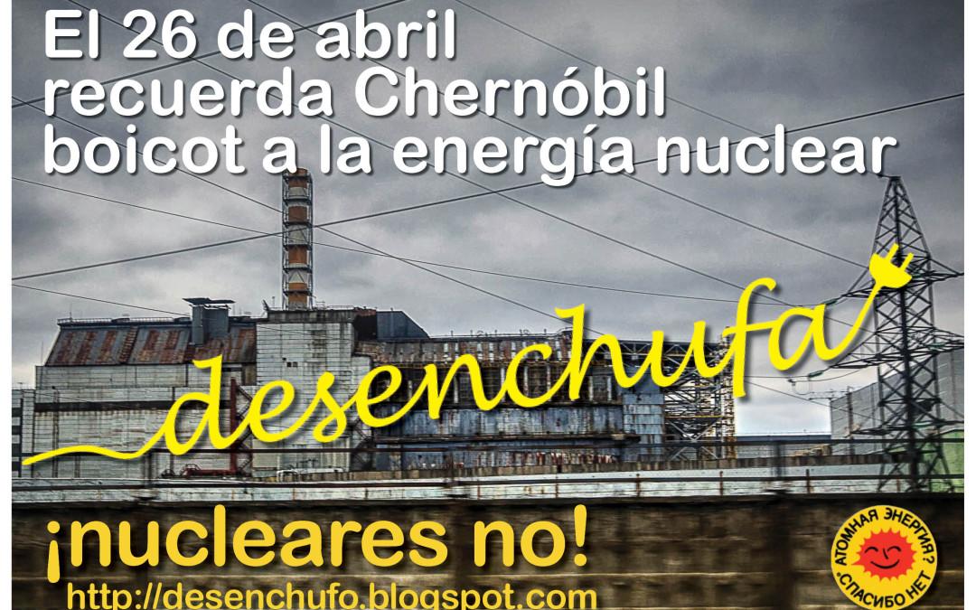 """EnergÉtica apoya la campaña """"Desenchufa la energía nuclear""""."""