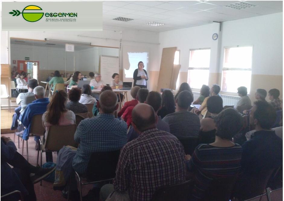 """… y el 22 de mayo EnergÉtica se presentó en """"ECOGERMEN"""", Valladolid."""