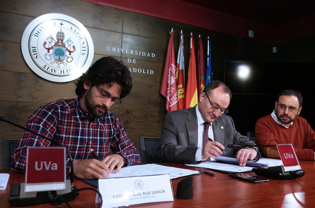 ¡Otro hito!: EnergÉtica firma un convenio con la Universidad de Valladolid.
