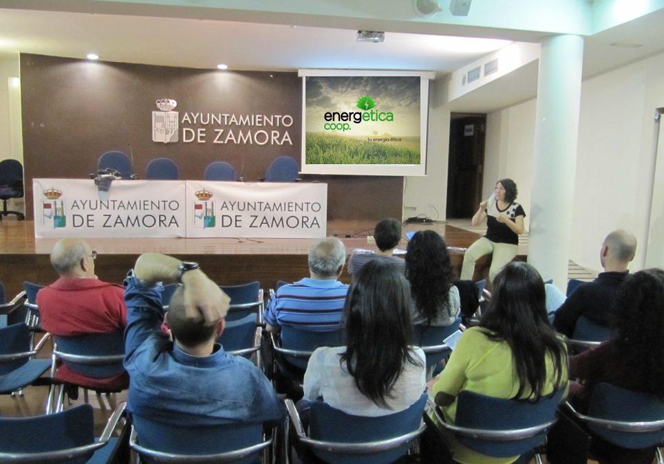 El viernes 20 de mayo presentamos EnergÉtica en Zamora.