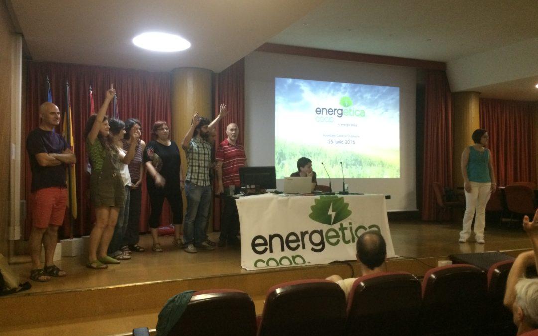 EnergÉtica celebra su primera asamblea ordinaria