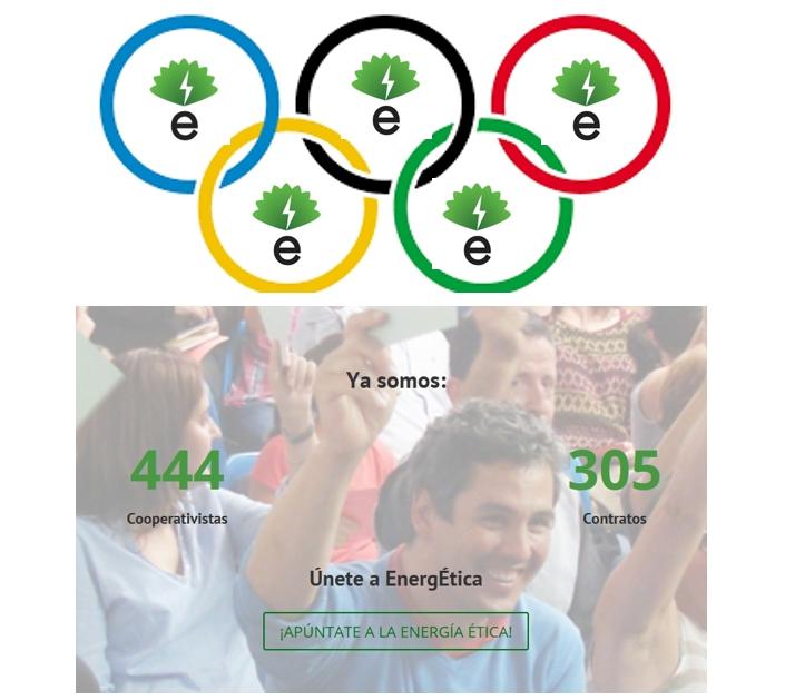 """En verano EnergÉtica sigue creciendo, """"olímpicamente""""."""