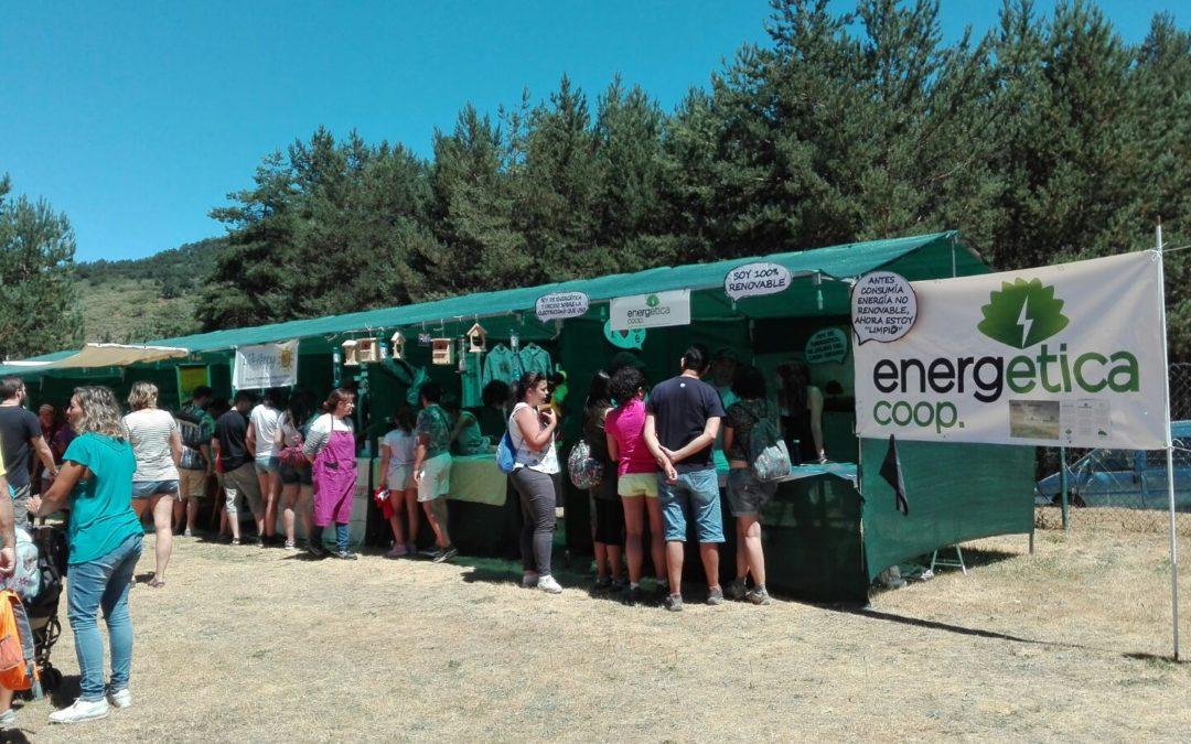 EnergÉtica en el DEMANDAFOLK de Tolbaños de Arriba, Burgos.