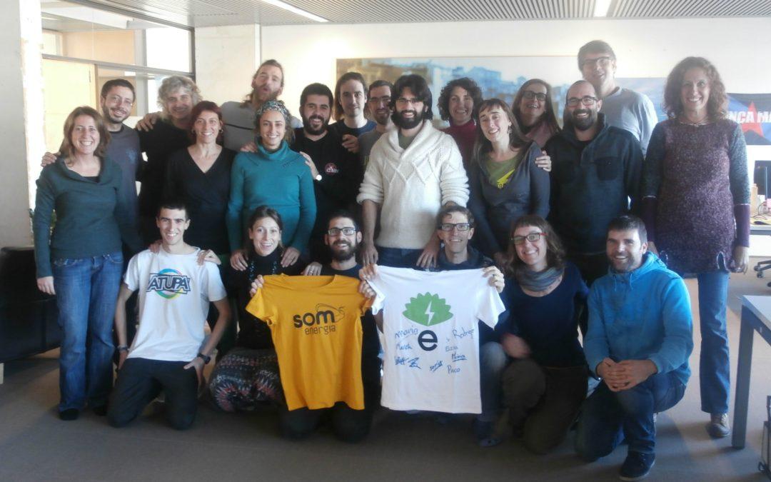 Conociendo el trabajo diario de Som Energía en Girona