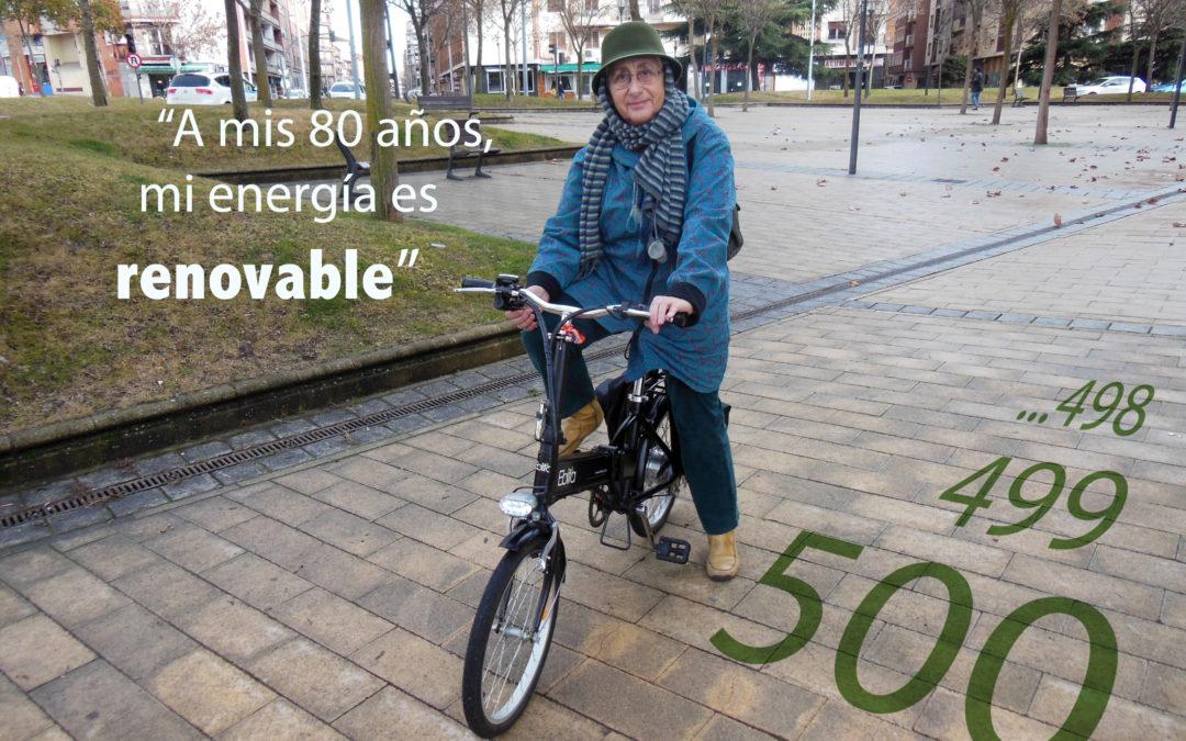 ¡Nuestro contrato 500!, Teresa Carbajal.