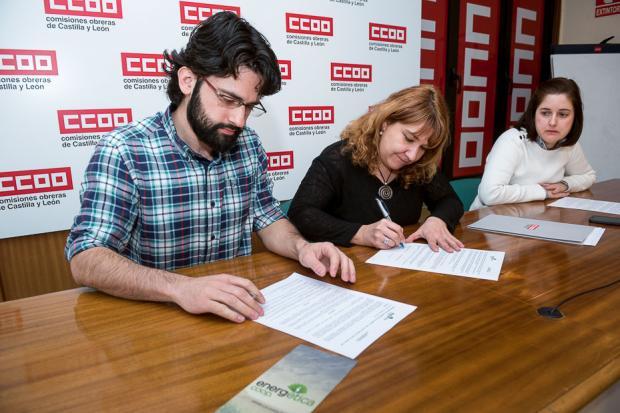 Convenio de colaboración Energética – CCOO de Castilla y León.