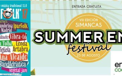 EnergÉtica en el Summer End y Demanda Folk 2017