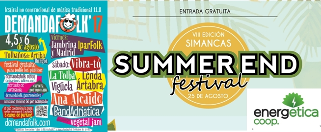 EnergÉtica en el Summer End y Demanda Folk 2017
