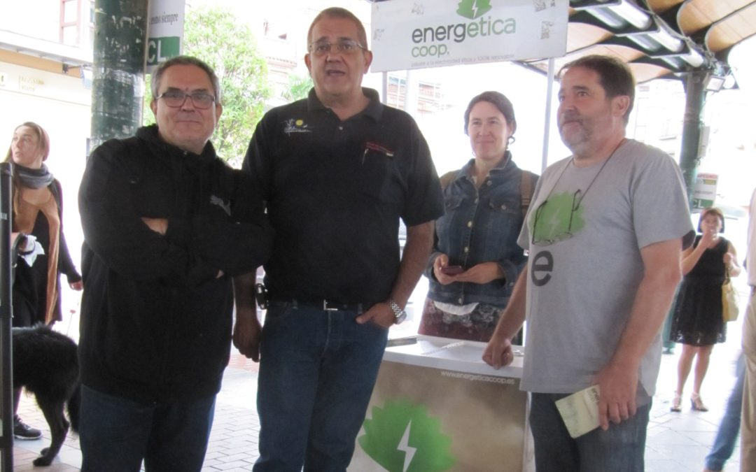 Energética en el X Mercado Ecológico de UCCL.