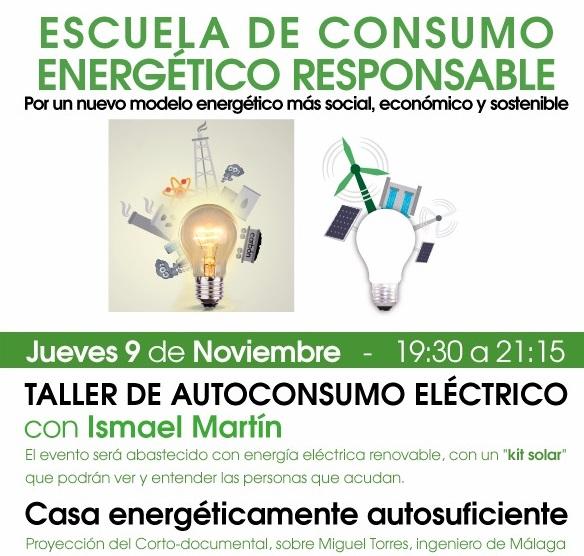 EnergÉtica organiza su 1ª Escuela de Consumo Energético Responsable en Burgos.