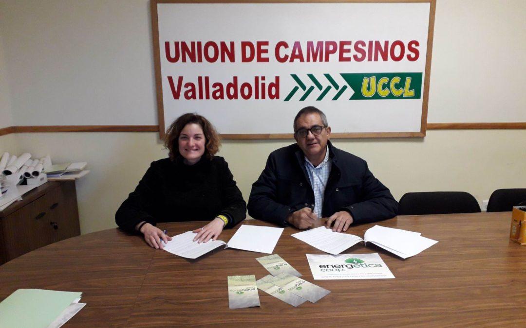 La UCCL y la cooperativa EnergÉtica firman un acuerdo de colaboración