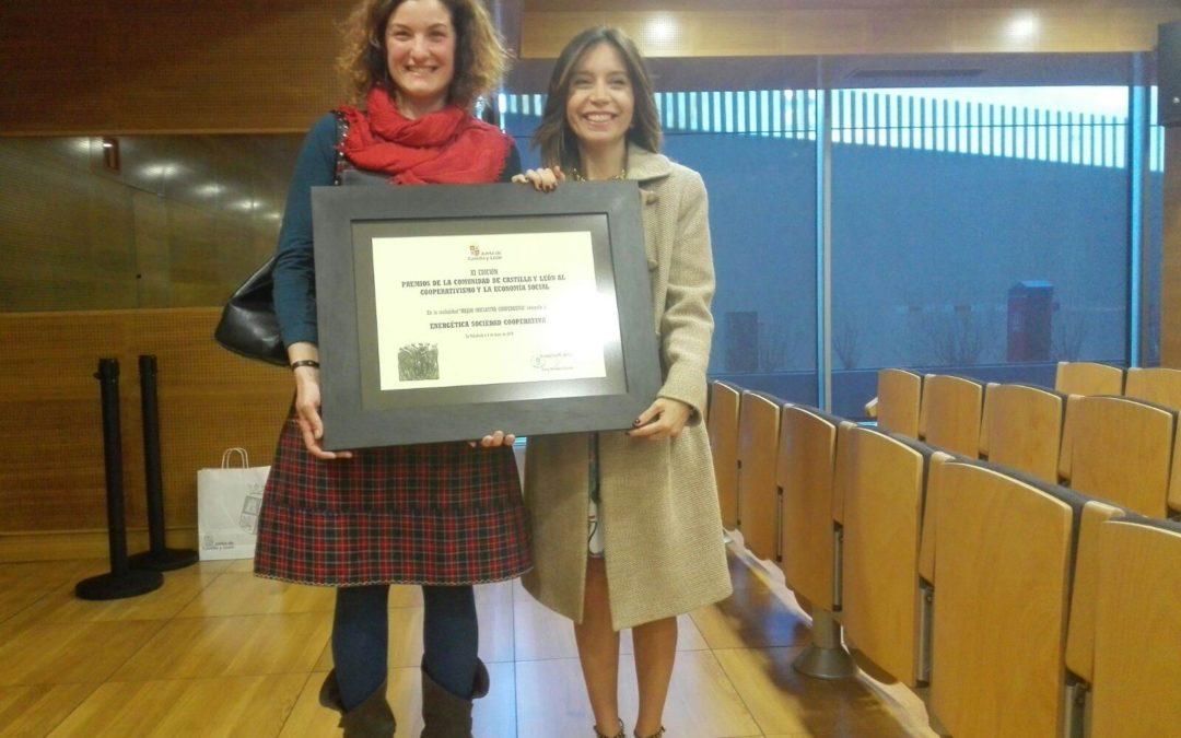 EnergÉtica premio a la Mejor Iniciativa Cooperativa en 2017.
