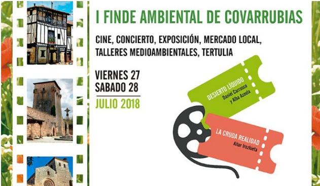 """EnergÉtica en el """"Finde Ambiental"""" de Covarrubias, Burgos. 27 y 28 de Julio."""