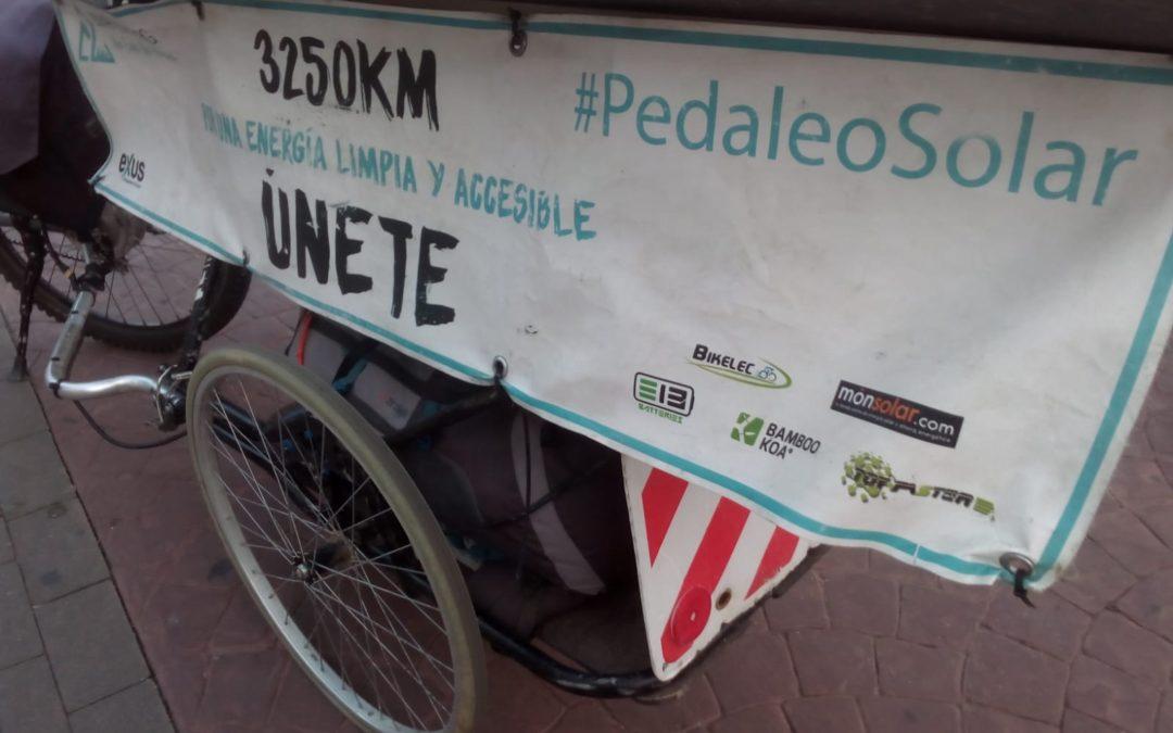 Pedaleo solar. Cómo recorrer un país en bicicleta con energías renovables