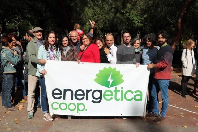 En la foto de Gaspar Francés, miembros del Consejo Rector y del Equipo Técnico