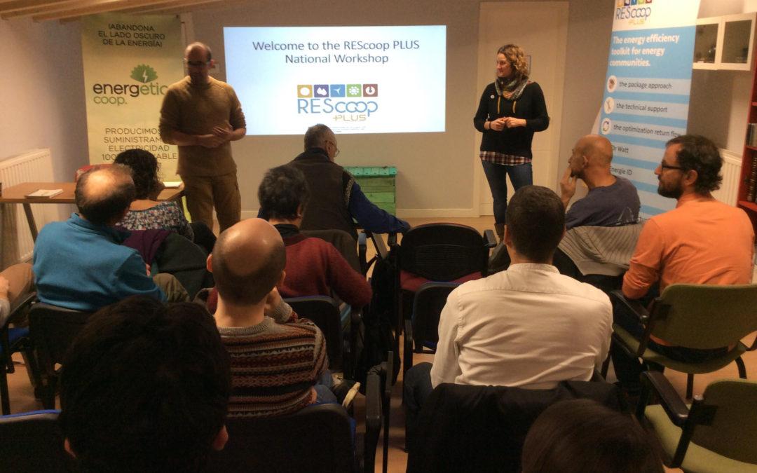 Rescooplus y los Encuentros EnergÉticos en Burgos