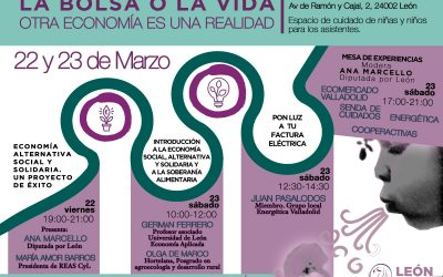 """EnergÉtica en León en las jornadas """"La bolsa o la vida""""."""