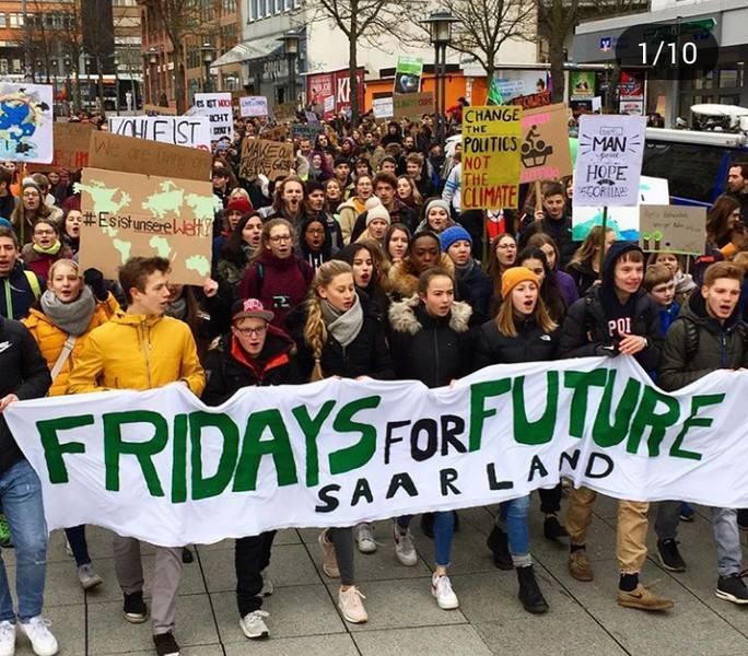 EnergÉtica apoya la huelga estudiantil por el Clima: #fridaysforfuture