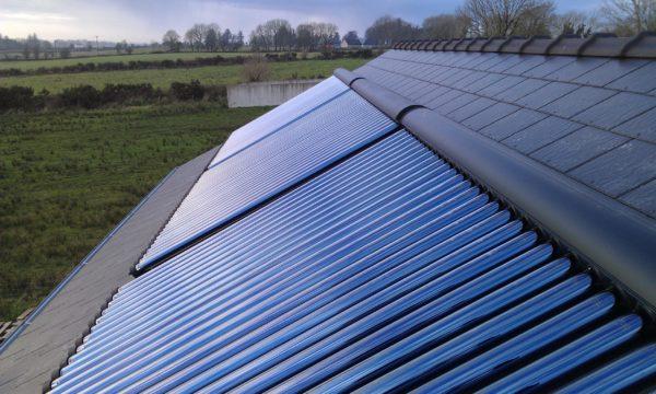 Solar-Space-heating-installation